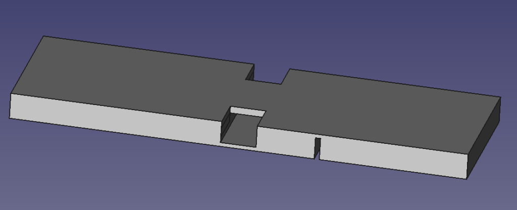 Adhesive strip to cable tie adapter rendering