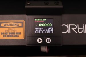 Octoprint status display for 3D printers