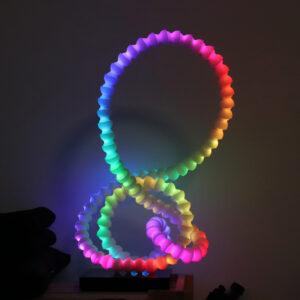 Mood Light running a rainbow animation