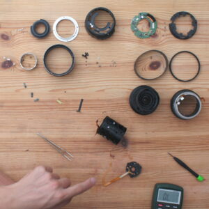 Replacing a broken aperture flat flex cable in the Canon EF-S 17-85mm f/4.0-5.6 IS USM zoom lens