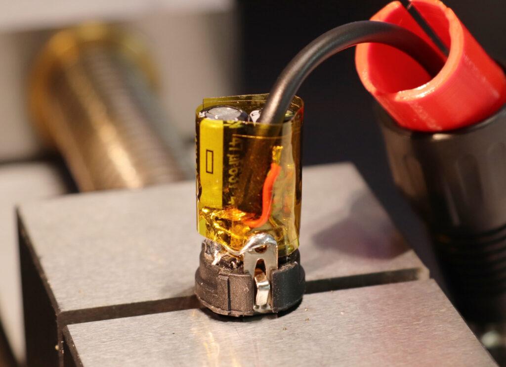 Microphone phantom adapter: Finalized